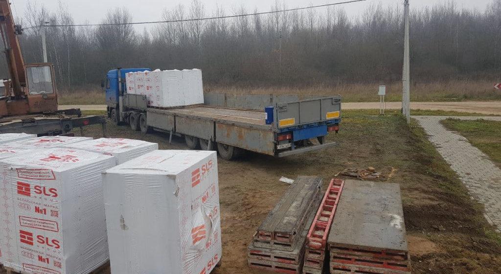 Прораб на предприятии в Барановичах похитил стройматериалы на 10 тысяч рублей