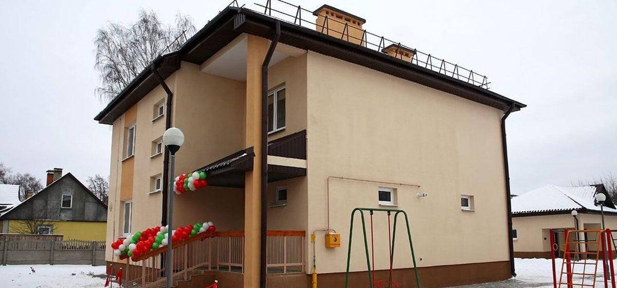 Сколько домов семейного типа работает в Барановичах и Брестской области