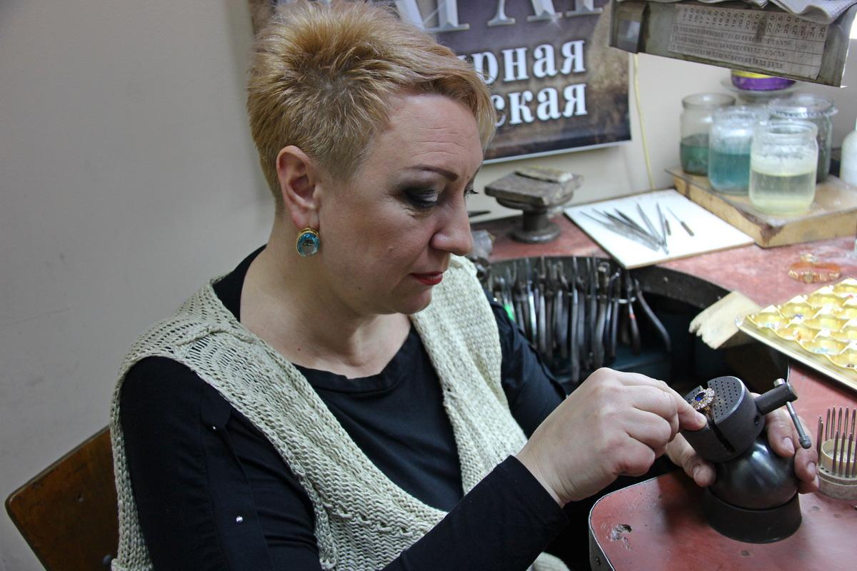 Елена Самохвалова. Фото: Никита ПЕТРОВСКИЙ