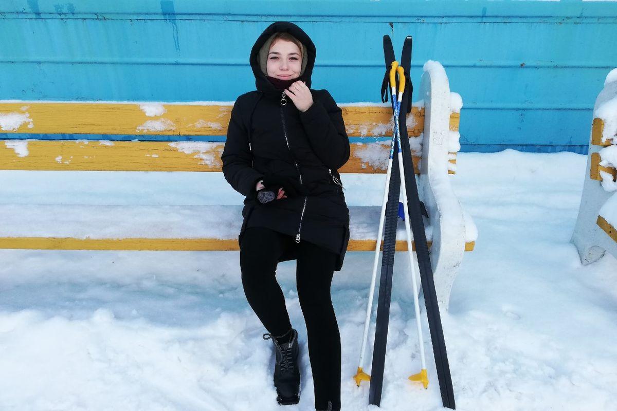 Корреспондент Intex-press после двухчасового катания на лыжах. Фото: Intex-press