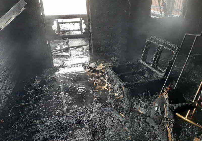 Баня горела в Барановичах
