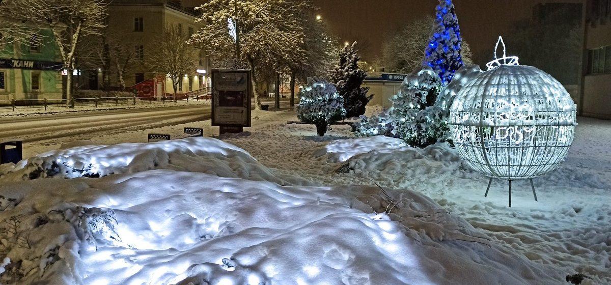 Снег растает? Погода в Барановичах 22 января