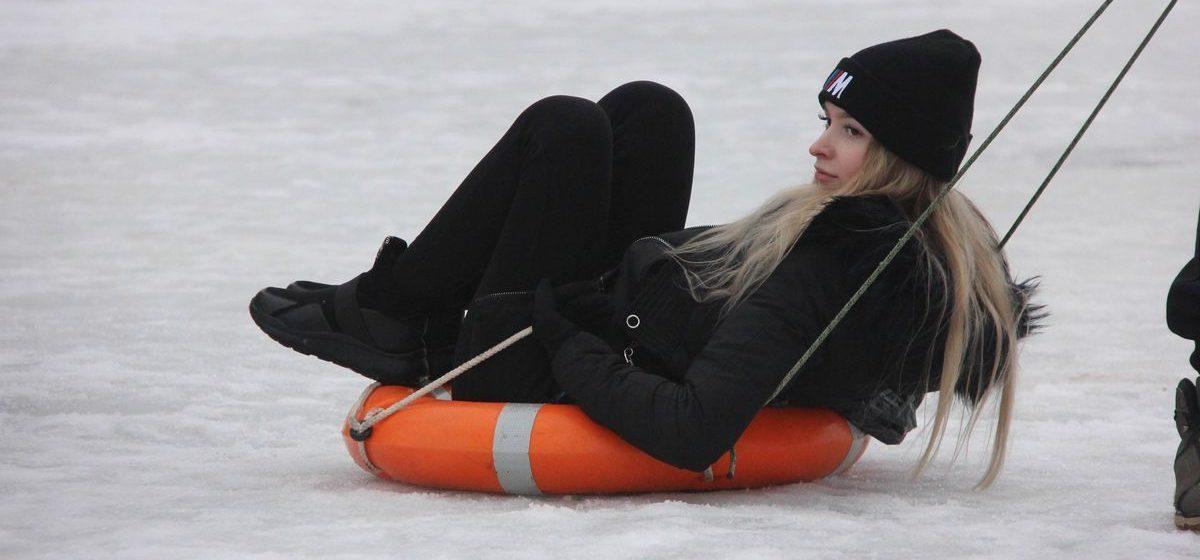 Как прошли «Зимние забавы» среди предприятий в Барановичах. Фоторепортаж