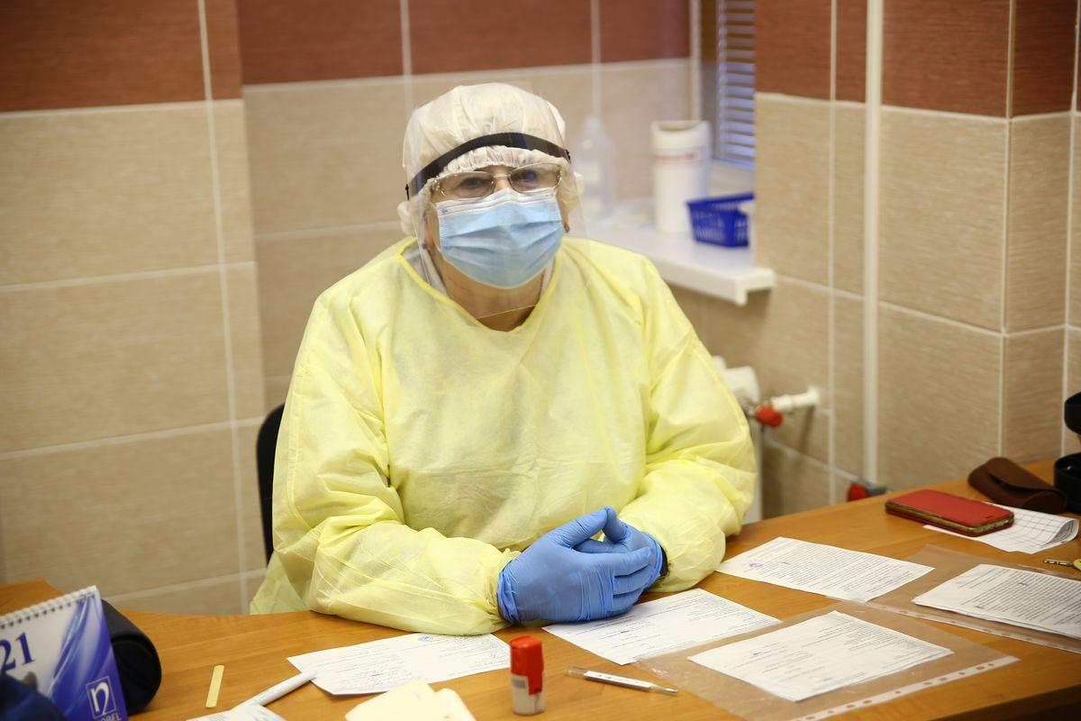 Янина Скробоцкая, заведующий Миловидской амбулаторией. Фото: Никита ПЕТРОВСКИЙ