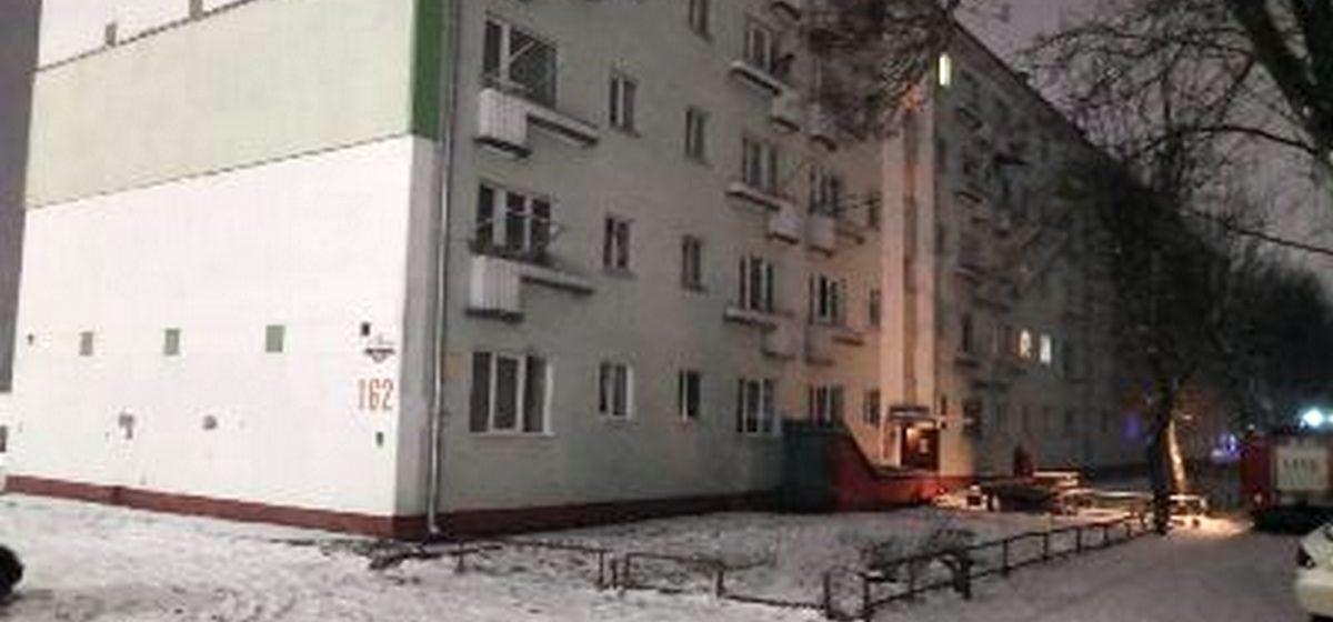 Два человека погибли на пожаре в Барановичах