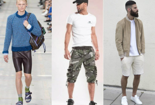 Модные мужские шорты: актуальные новинки 2021 года