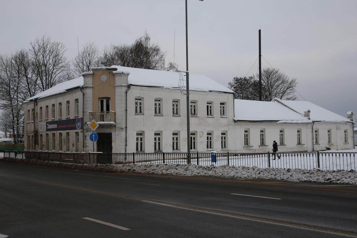 Здание бывшего наркологического диспансера на улице Тельмана. Фото: Татьяна МАЛЕЖ