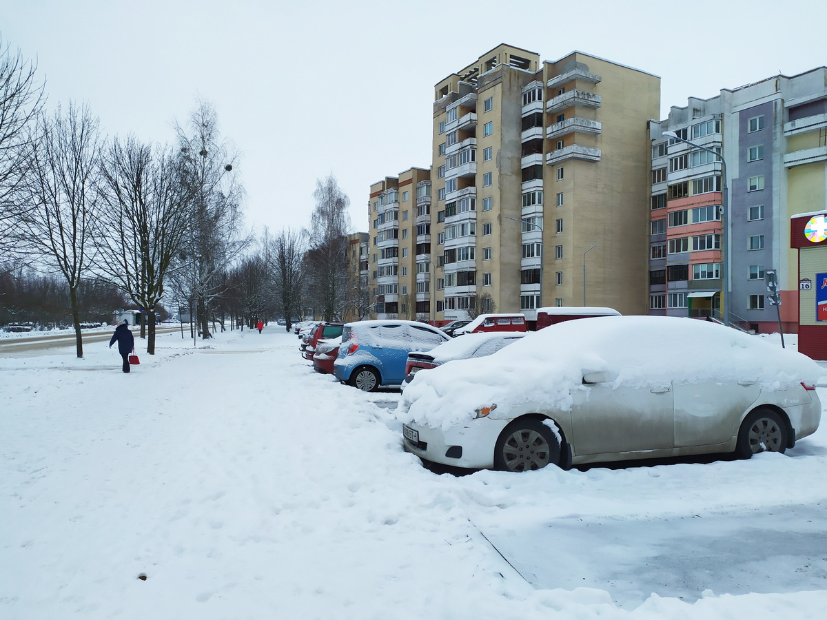 Улица Парковая.  Фото: Татьяна МАЛЕЖ