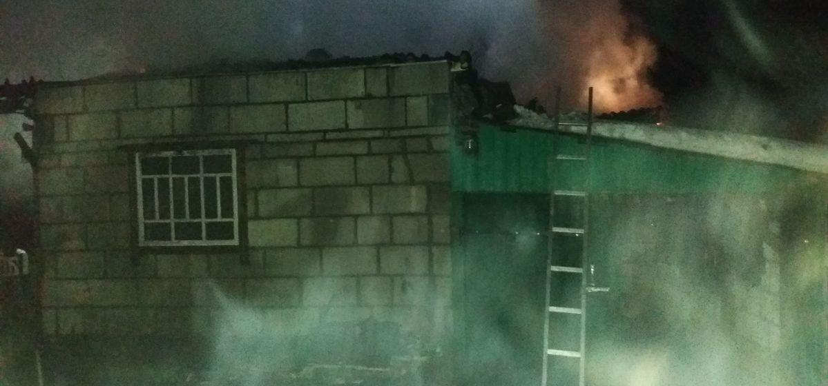 Жилой дом горел в Барановичском районе