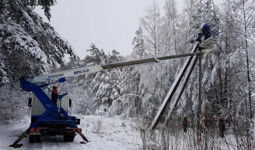Сколько деревень остаются без света в Брестской и Гродненской областях