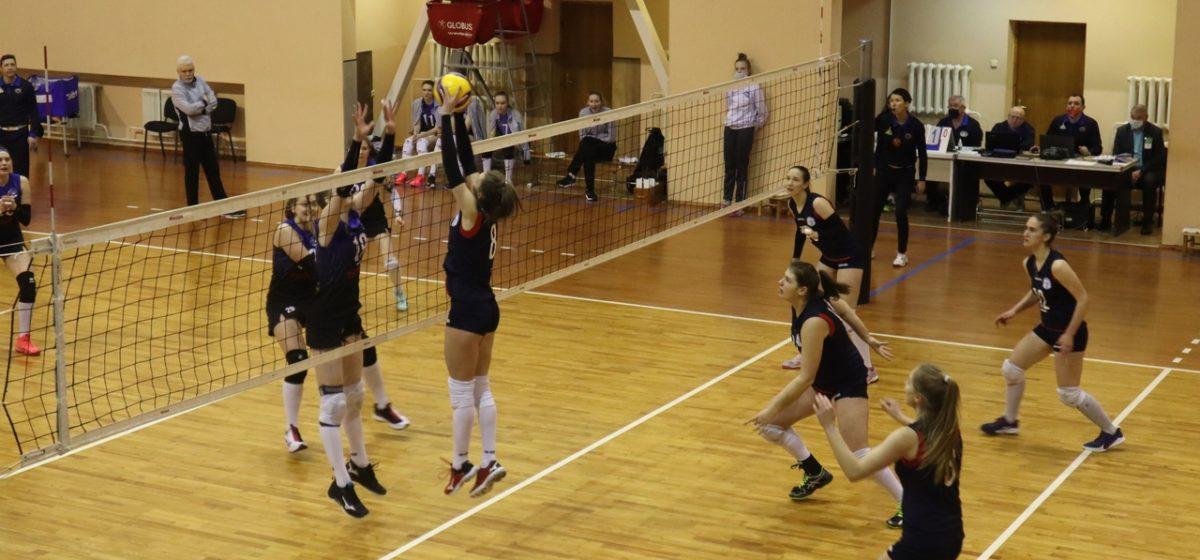 Как сыграли барановичские волейболистки на домашней площадке против «Минчанки-2»?