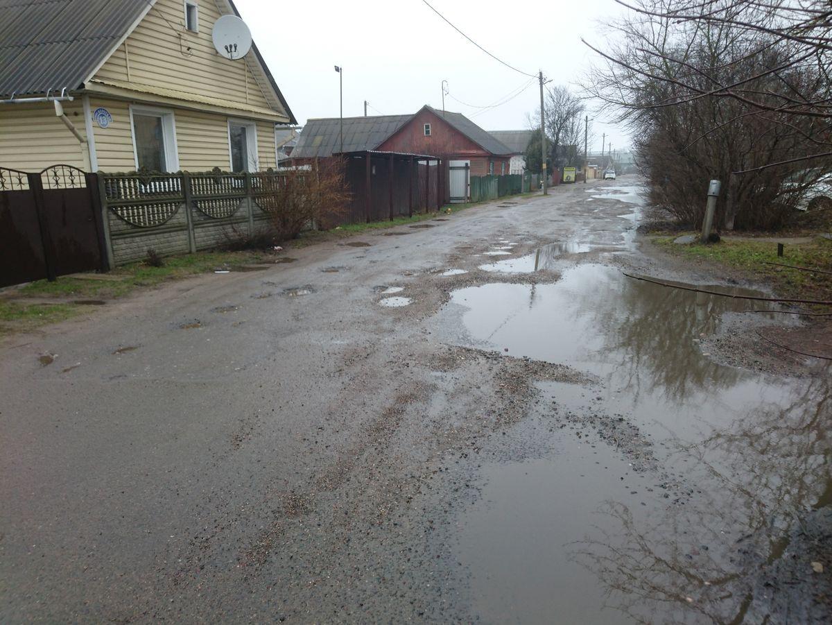 Улица Короткая в 2021 году. Фото: Николай ТОМАШЕВСКИЙ
