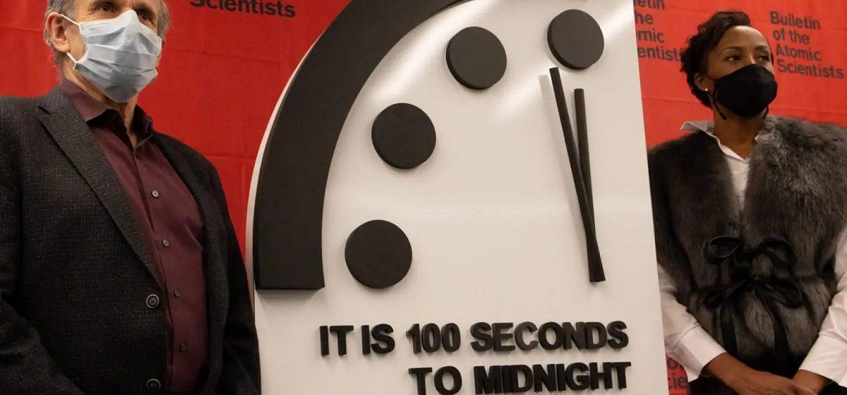 Стрелки часов Судного дня оставили в 100 секундах от «ядерной полночи»