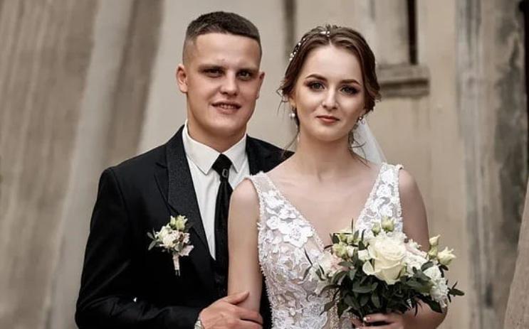 Максим Денисевич с супругой