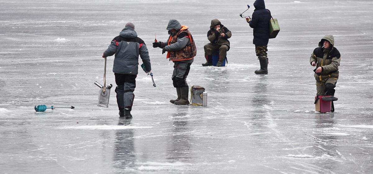 Сколько людей провалились под лед в выходные в Брестской области