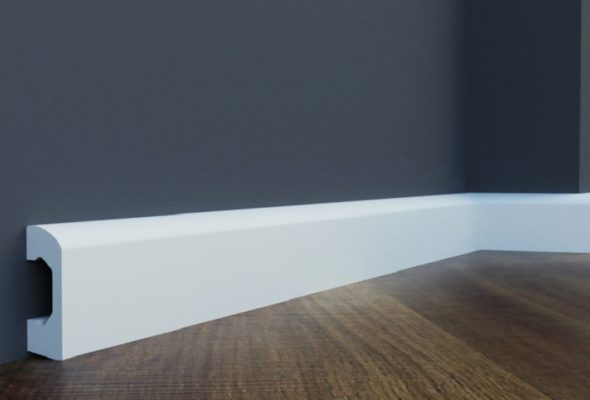 Плинтус под покраску – отличное решение