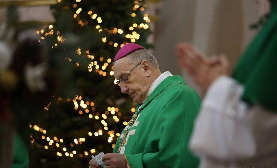 Архиепископ Тадеуш Кондрусевич отслужил «прощальную» службу