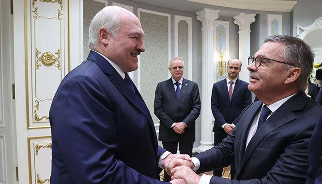 Фазель о переговорах с Лукашенко: «Мы дали понять, что ЧМ невозможен без изменения политической ситуации в стране»