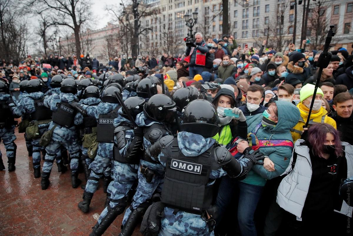 23 января, Москва. Фото: Reuters