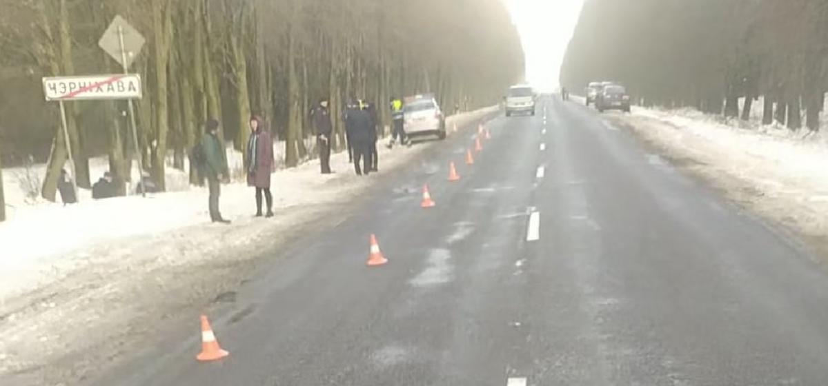 Труп мужчины с признаками насильственной смерти обнаружили на дороге в Барановичском районе