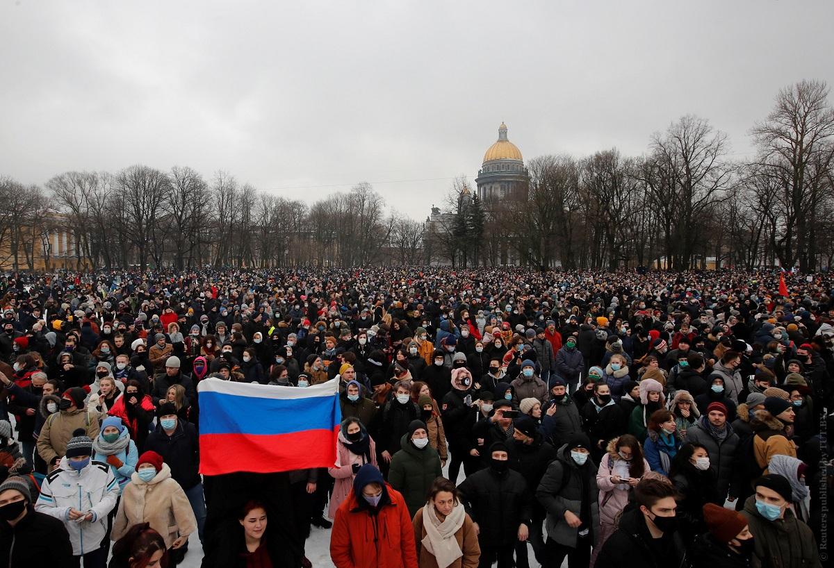 23 января, Санкт-Петербург. Фото: Reuters
