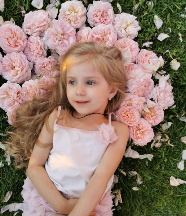 Четырехлетняя Вера Воронина - одна из участниц конкурса