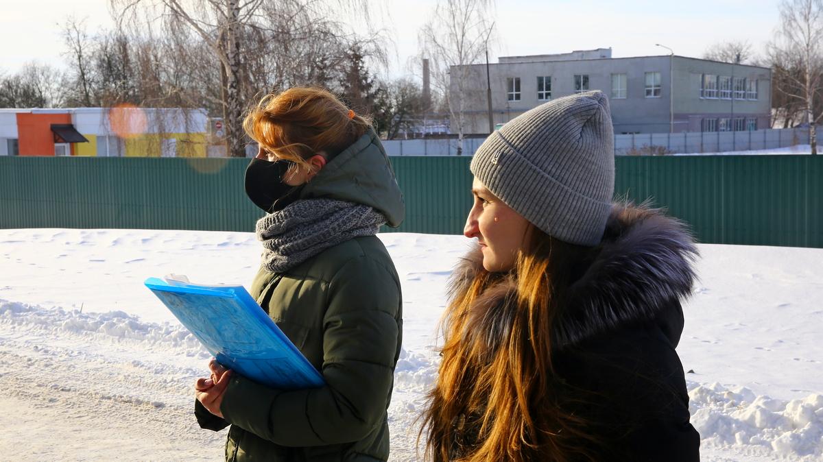 Анна Евсейчик и Анна Черноокая. Фото:  Юрий ГОНЦАРЕВИЧ