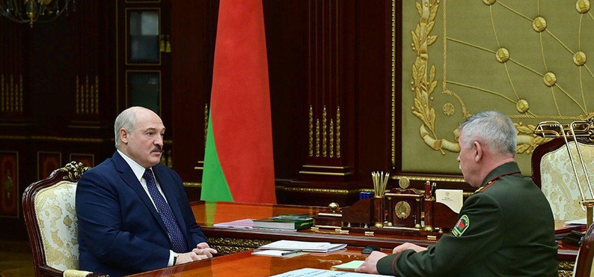 Что Лукашенко написал от руки в «шпаргалке» на встрече с главой Госпогранкомитета: «Мы хотим жить мирно, но если…»