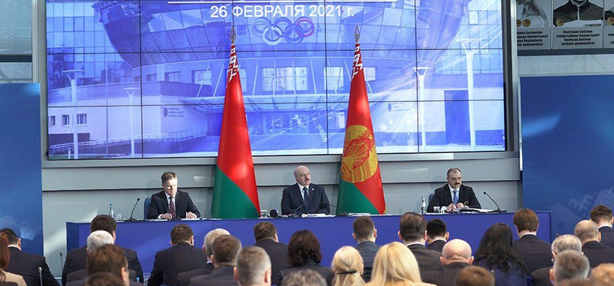 Лукашенко — о предстоящей Олимпиаде: «Едем в Токио драться. Нас будут плющить со всех сторон»