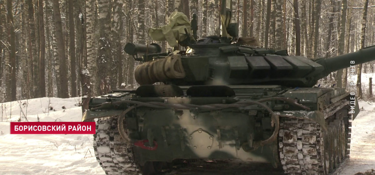 В Минобороны рассказали, поджигали ли в Минске танк