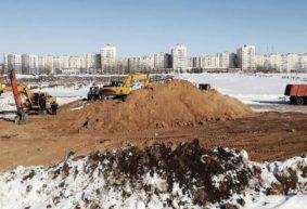 Что сейчас происходит в новом микрорайоне Северный-2 в Барановичах? Фото