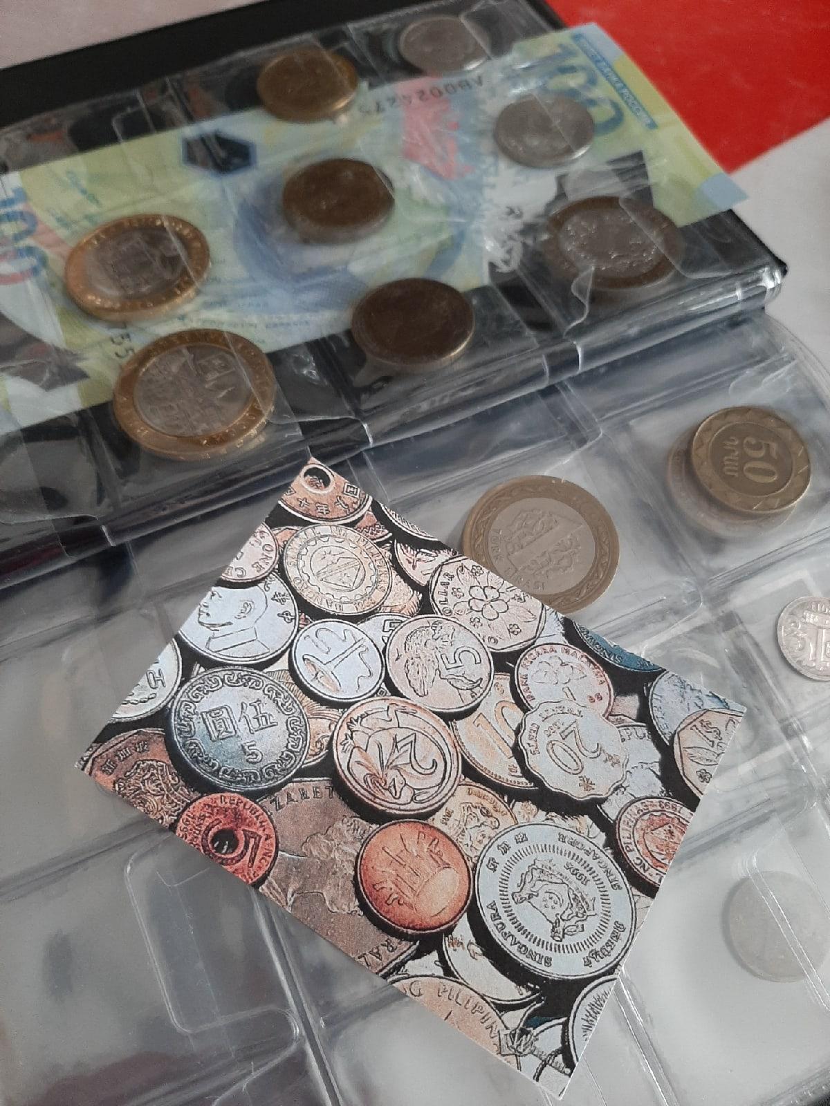 Пополнила коллекцию монет. Фото: Анна РОМАНОВА-КОЛОСОВСКАЯ