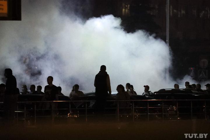 Во время протестов 10 августа. Фото: Дмитрий Брушко, TUT.BY