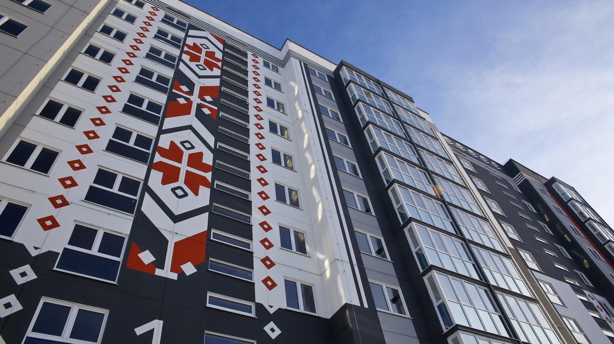 Дом №19 на улице Профессиональной. Фото:  Юрий ГОНЦАРЕВИЧ