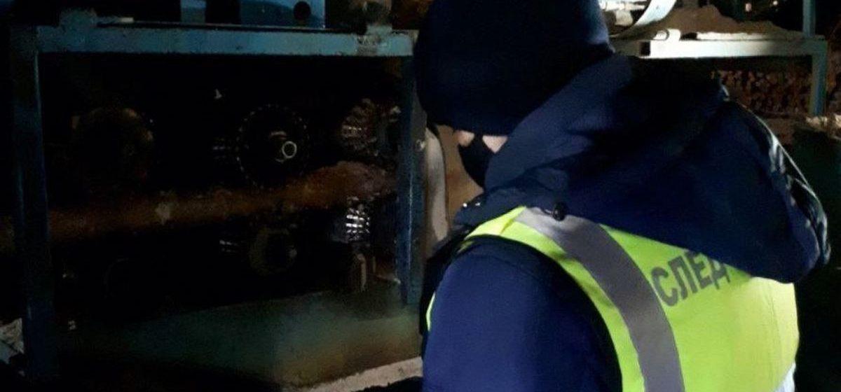 Рабочий погиб на одном из предприятий в Березино