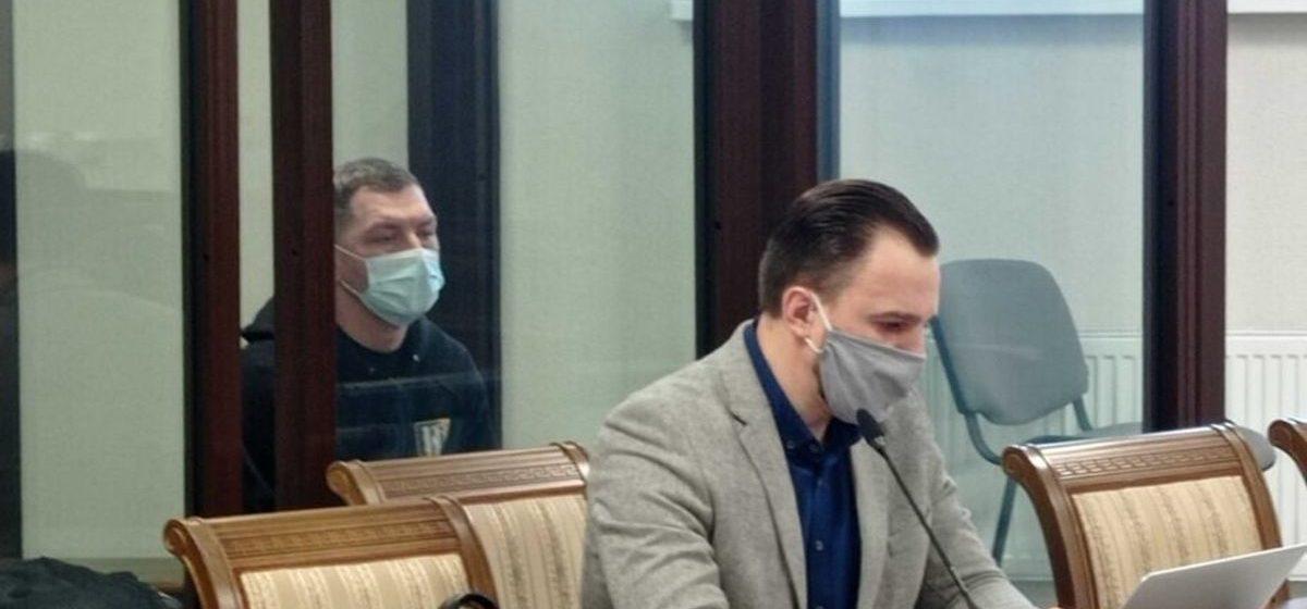 16 февраля, Брест. Александр Кордюков на суде. Фото: svoboda.org
