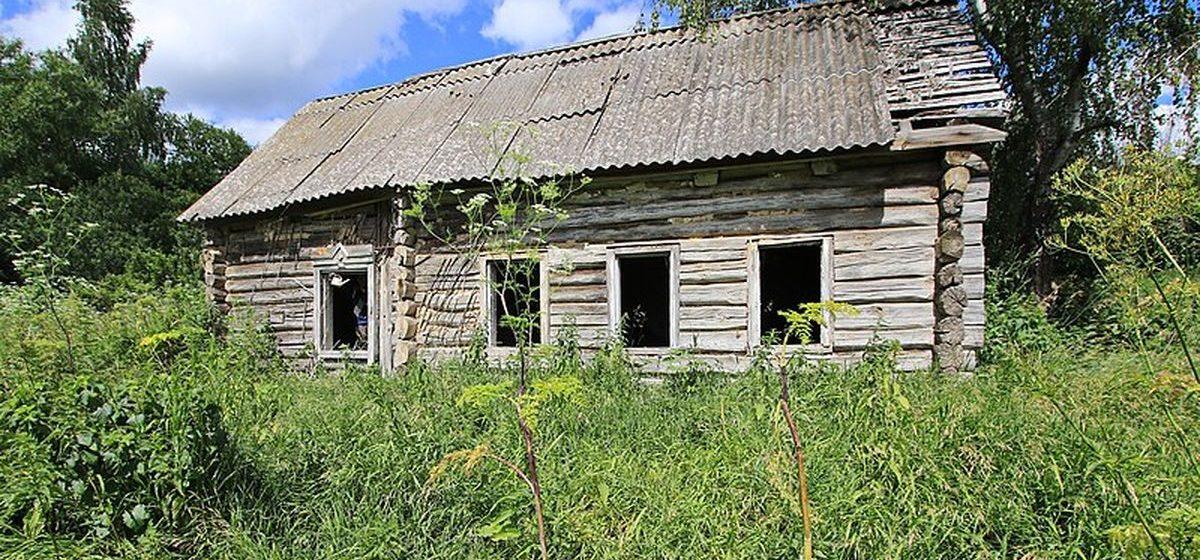 Заброшенные дома на селе будут продавать за одну базовую величину