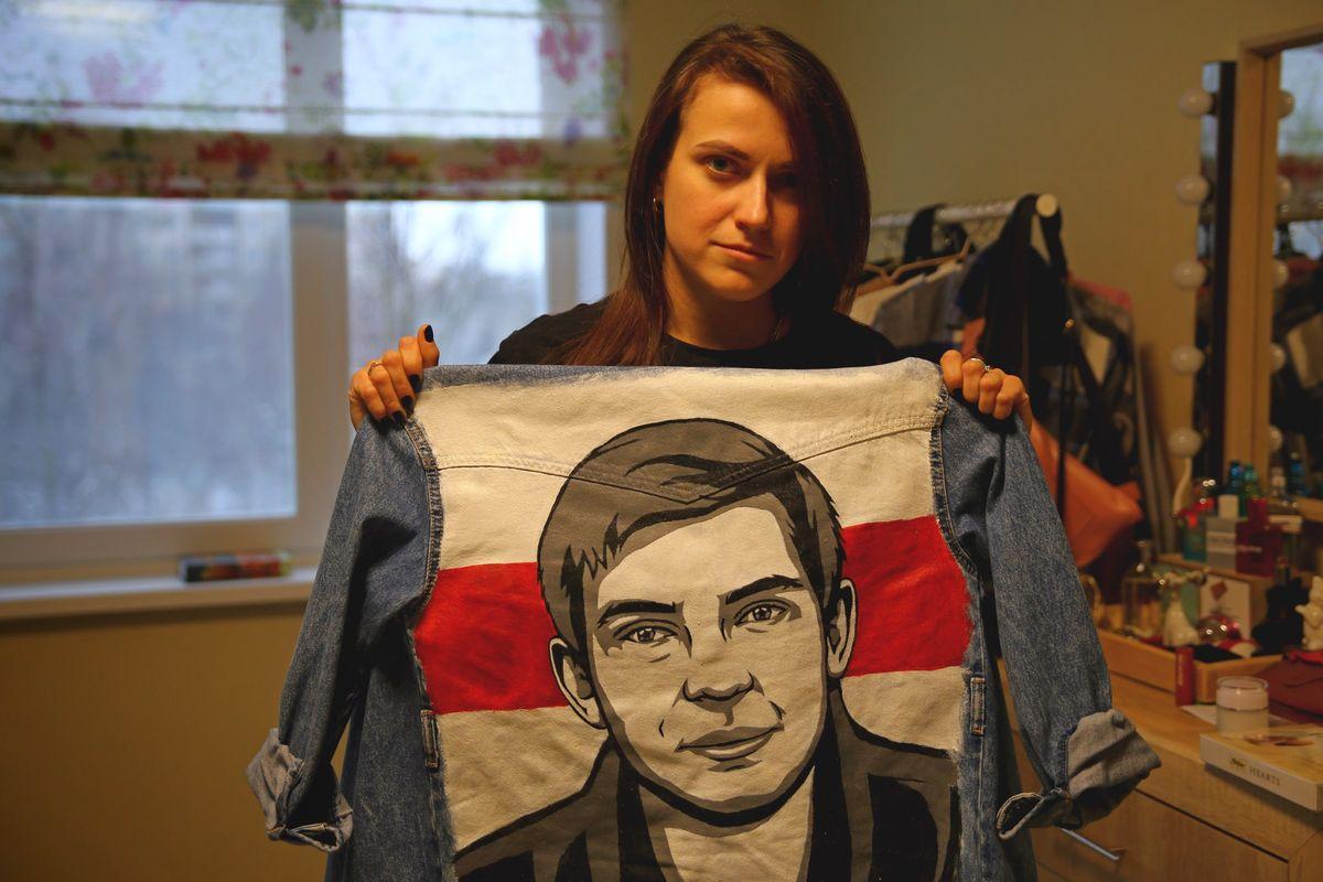 Дарья Лосик говорит, что восхищается своим мужем и гордится им. Фото: Никита ПЕТРОВСКИЙ