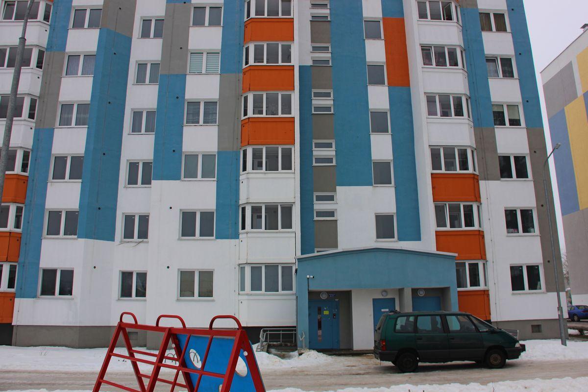 Новостройка на улице Свердлова, 41. Фото: Никита ПЕТРОВСКИЙ