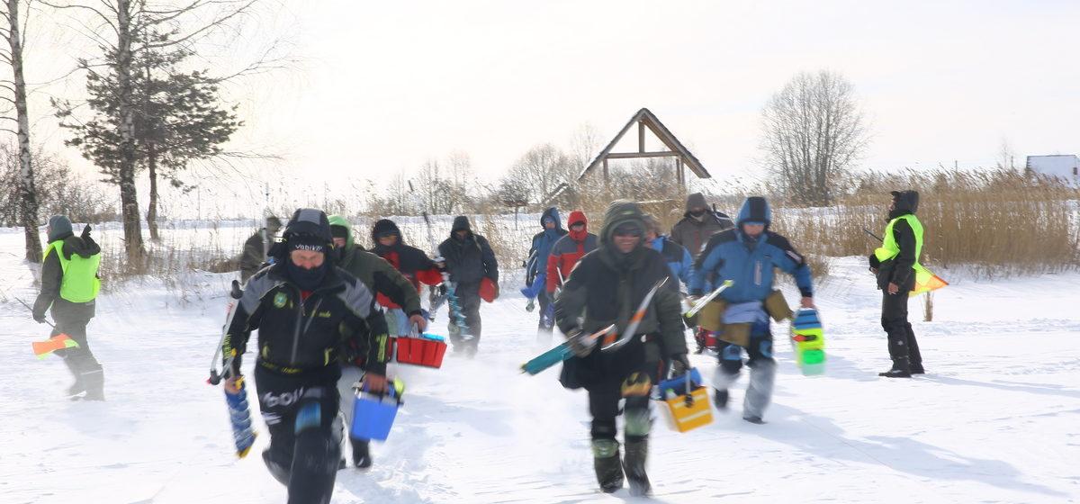 Сколько рыбы поймали на рыболовном турнире под Барановичами. Фоторепортаж