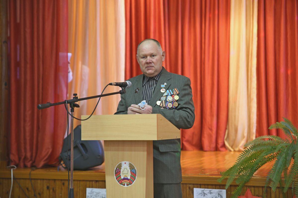 Участник Афганской войны Павел Косов. Фото: Никита ПЕТРОВСКИЙ