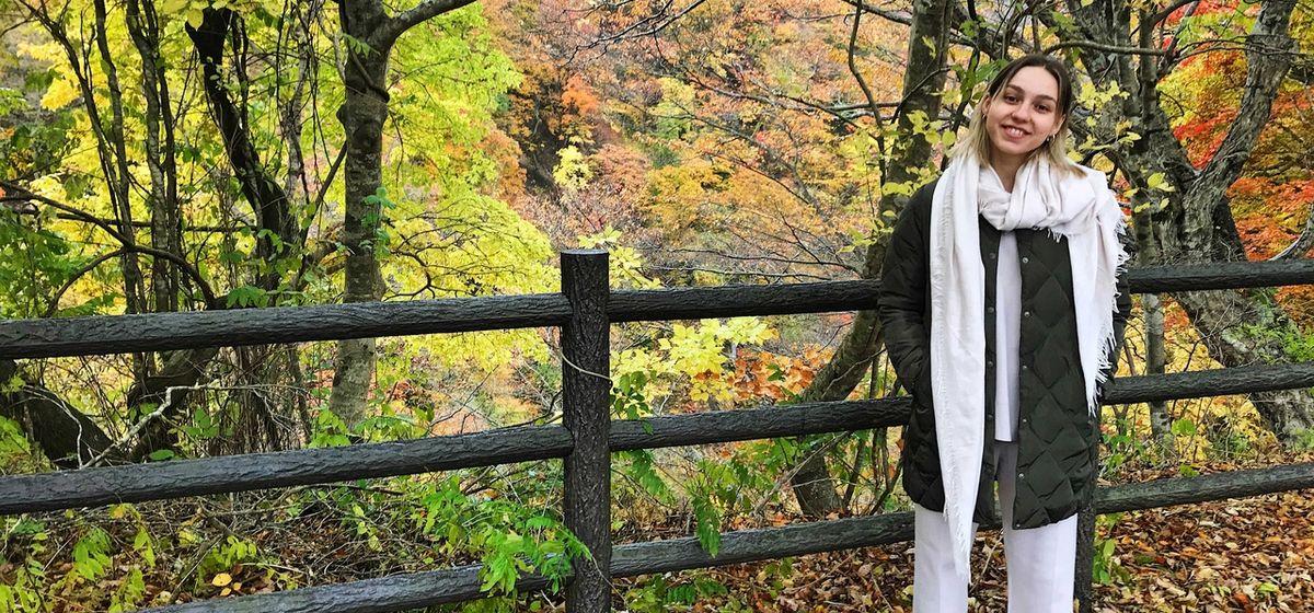 Алина Севец в Японии. Фото: личный архив