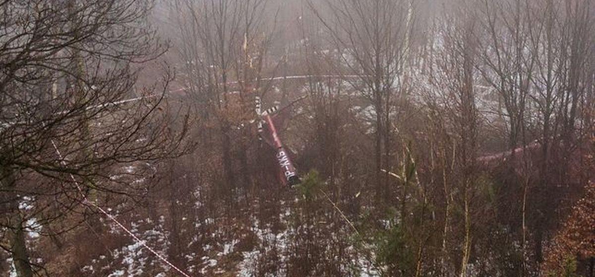 В Польше разбился вертолет — два человека погибли, еще двое получили серьезные травмы