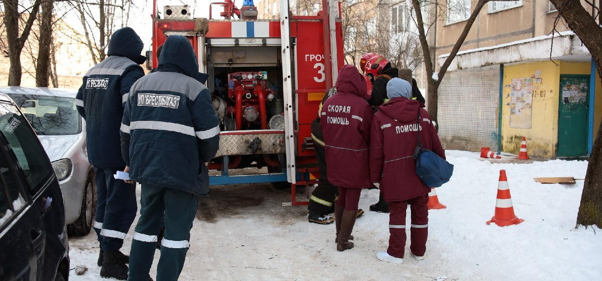 Что горело в девятиэтажном доме в Барановичах?