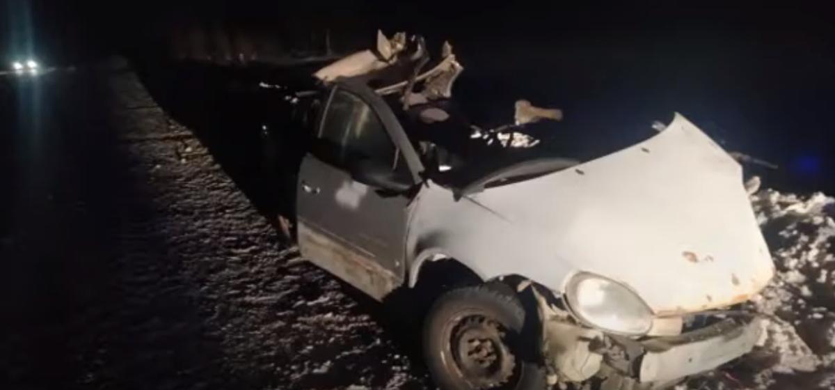 Бесправник на Dodge врезался в две фуры в Могилевском районе — погиб один человек