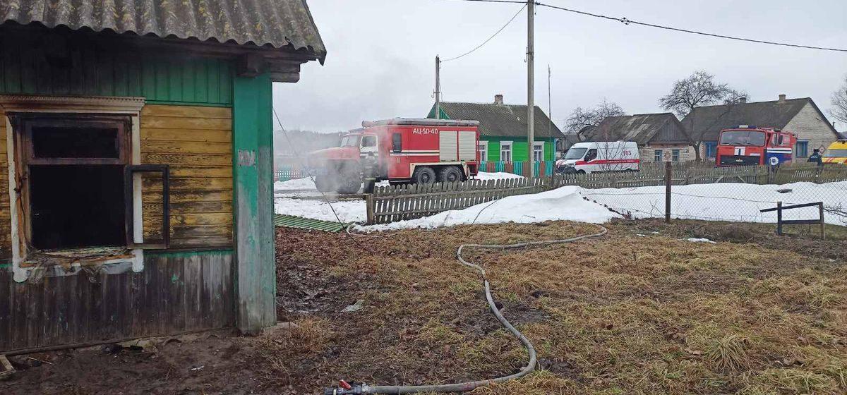 Шесть пожаров за сутки произошло в Брестской области, один из них – в Барановичах