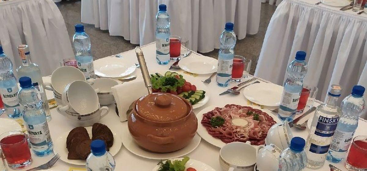 Чем угощали делегатов на VI Всебелорусском собрании. Фотофакт