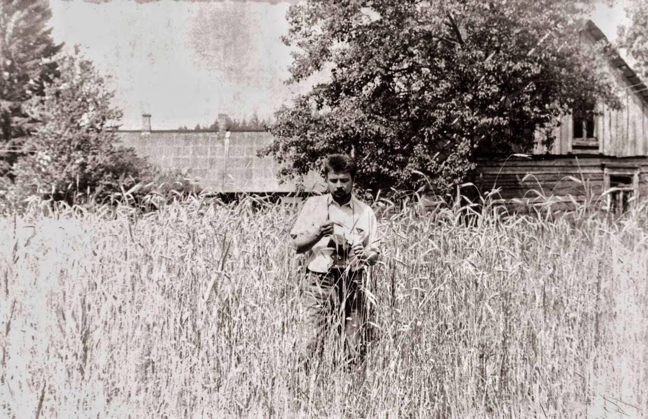 Ян Збажына ў 90-х гадах. Фота з сямейнага архіву