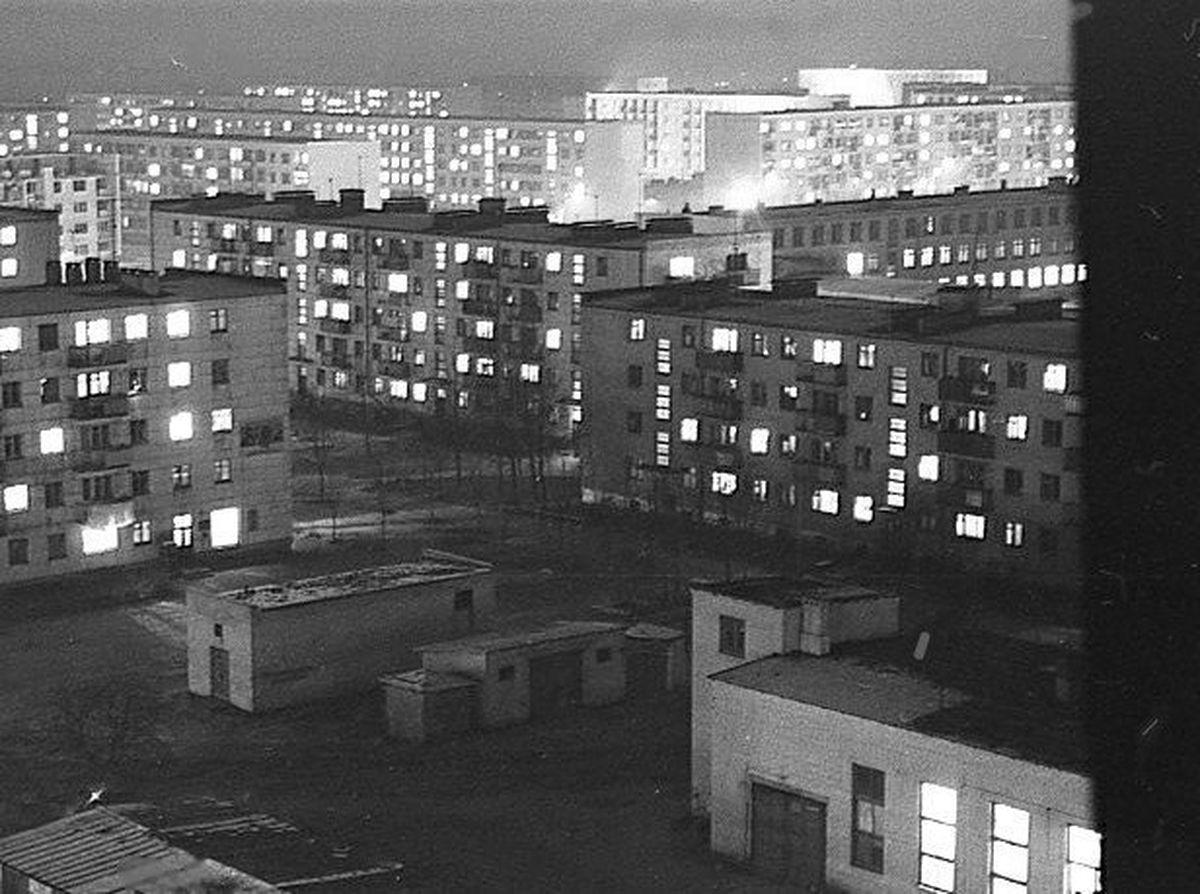 1973 год. Южный микрорайон. Фото: Иван БУТЬКО