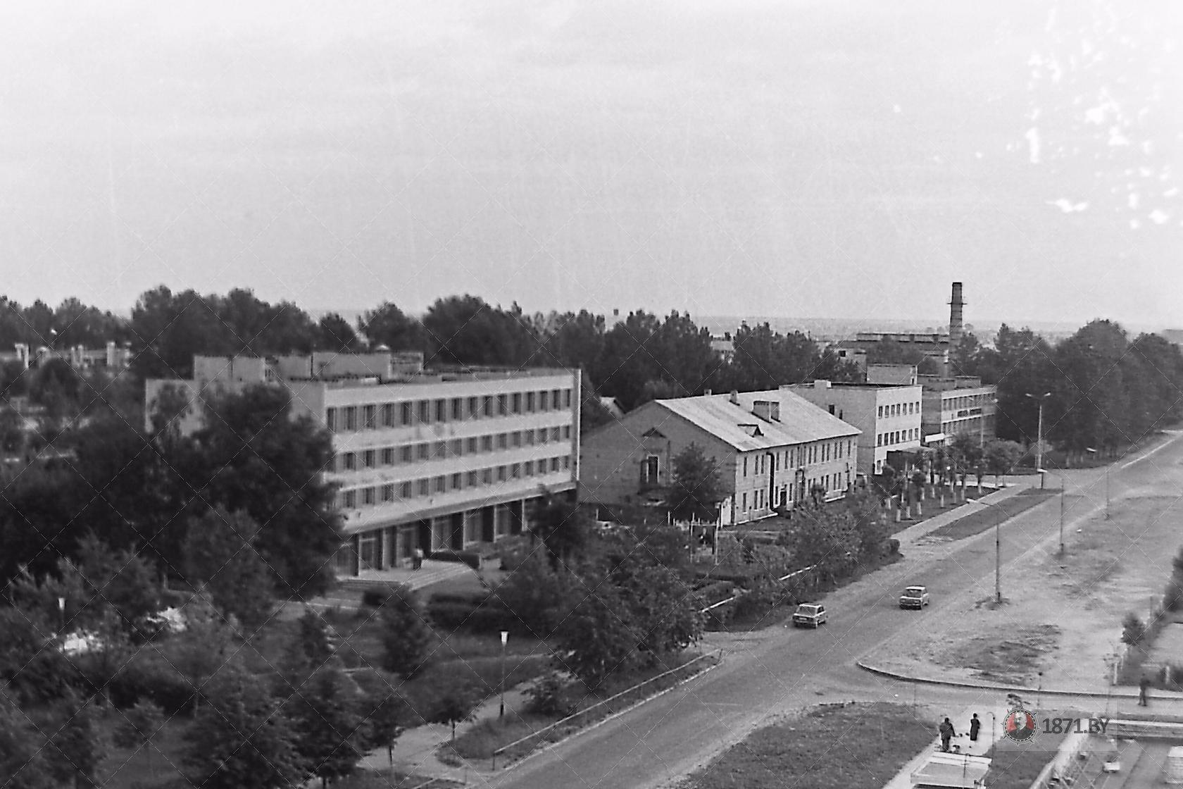 1985 год. Авиаремонтный завод. Фото: сайт 1871.by